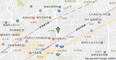 【地図】松原梅本ハイツ