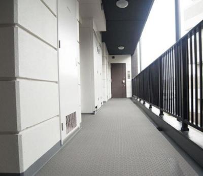 ブリシア不動前の廊下部分