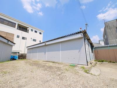 【外観】大安寺西ガレージ倉庫