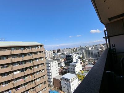 【展望】ナイスアーバンステイツ大島 13階 角 部屋 2000年築 大島駅3分