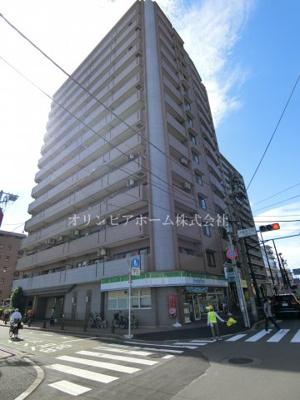 【外観】ナイスアーバンステイツ大島 13階 角 部屋 2000年築 大島駅3分