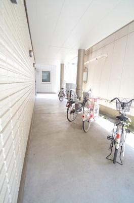 駐輪スペース サフィール