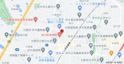 【地図】春日マンション