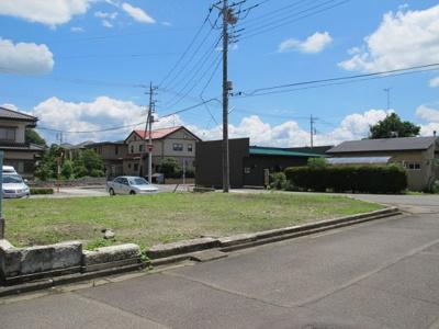 【外観】大田原市城山2丁目685万円 土地