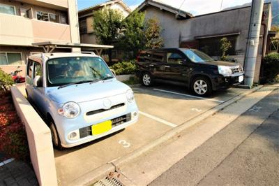 【駐車場】ヴィラハピネス