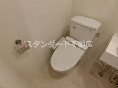 【トイレ】セレニテ福島カルム