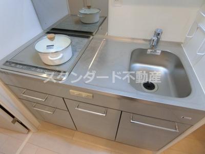 【キッチン】セレニテ福島カルム
