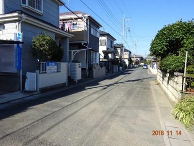 【前面道路含む現地写真】鴻巣市氷川町 中古一戸建て