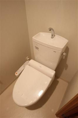 【トイレ】フォレステージュ北堀江