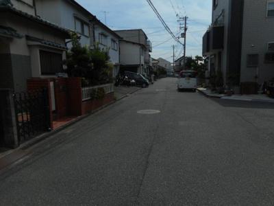 【前面道路含む現地写真】【中古戸建】東中学校区・54034