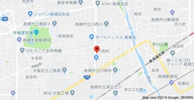 【地図】コート川西