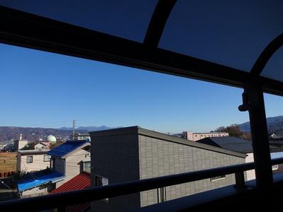 3階ベランダからの景色