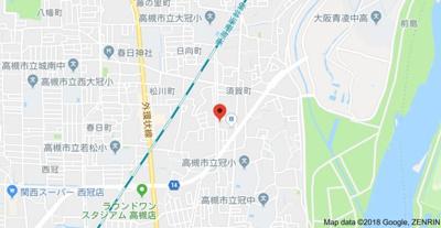 【地図】グレース大冠㈱Roots