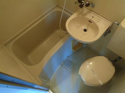 【浴室】KSハイツ湯里
