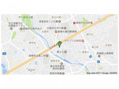 【地図】レジデンス西田B
