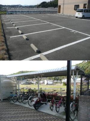 【駐車場】earth