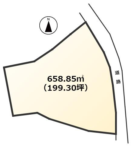 【土地図】大牟田市神田町土地