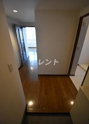 【玄関】リバーシティ21イーストタワーズⅡ