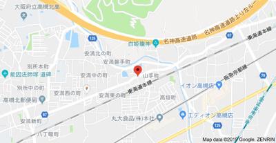 【地図】山手町平屋