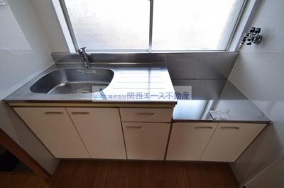 【キッチン】瓢マンション