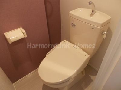ハーモニーテラス豊島Ⅱの清潔感のあるトイレです☆
