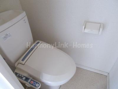 神楽坂ヒルサイドコートの清潔感のあるトイレです☆