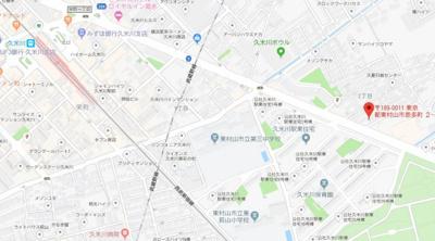 【地図】アリエスビル