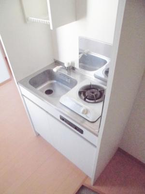 【キッチン】アリエスビル