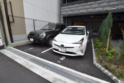 【駐車場】プレサンス谷町七丁目Ⅱ