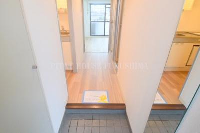 【玄関】おおきに北梅田サニーアパートメント