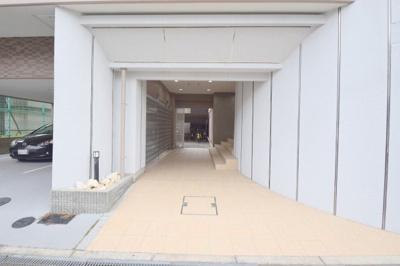 【エントランス】おおきに北梅田サニーアパートメント