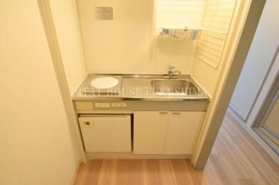 【キッチン】おおきに北梅田サニーアパートメント