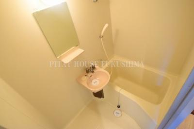 【浴室】おおきに北梅田サニーアパートメント