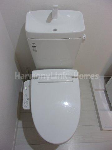 ソフィア北池袋のゆったりとした空間のトイレです