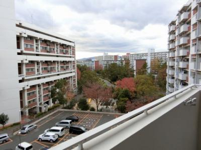 【現地写真】バルコニーからの眺めも、緑も多く絶景です♪