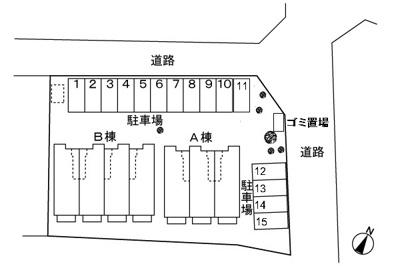 【区画図】サンライズヒルⅠ