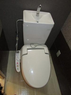 【トイレ】メロディーハイム大日