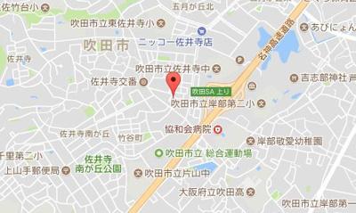 JPアパートメント吹田Ⅱ