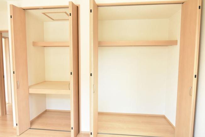 収納スペースが多く便利♪