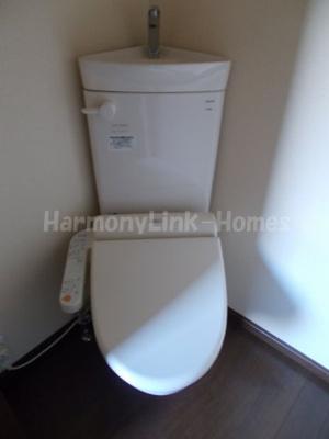 アーバンプレイス東中野Bのトイレもきれいです