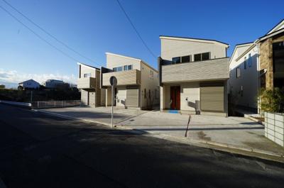 【外観】保土ヶ谷区仏向町 全3棟新築戸建て【成約済】
