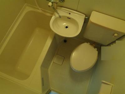 【浴室】ハイツ湯里