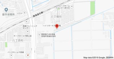 【地図】ハイツオーキタ八丁畷 (株)Roots