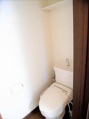 【トイレ】カギナカハイツA