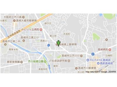 【地図】バーンフリート真上