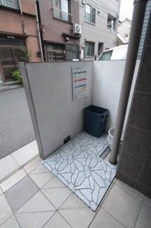 敷地内ゴミ置き場 ジュネスHK