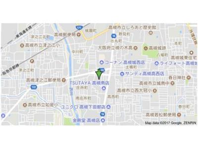 【地図】森田マンションB棟
