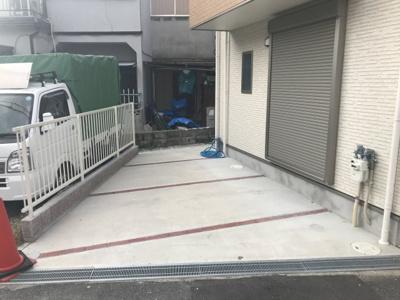【駐車場】摂津市鳥飼野々3丁目 新築一戸建