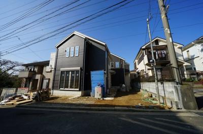【外観】保土ヶ谷区新井町 全2棟新築戸建て【成約済】