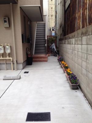 駐輪スペース コート亀沢